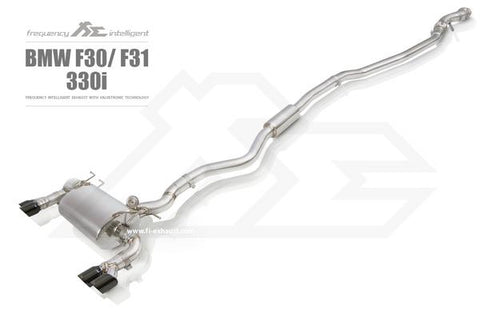 FI Exhaust BMW F30 320i/328i F32 420i/428i N20 DownPipe Only - SSR Performance