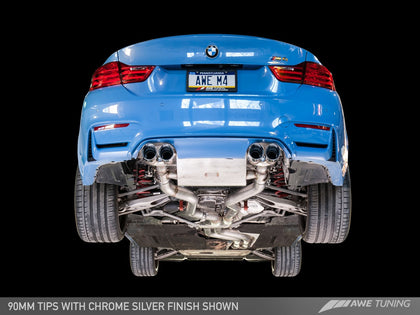 AWE TUNING F8X M4 SWITCHPATH™ EXHAUST SUITE