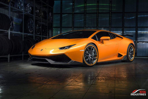 1016 Industries Lamborghini Huracan (LP610) / Side Skirts (Forged Carbon)