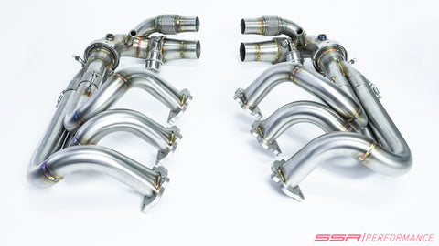 PORSCHE 991.1 / 991.2 GT3 / GT3RS / 911R COMPETITION SERIES LONGTUBE EXHAUST HEADERS