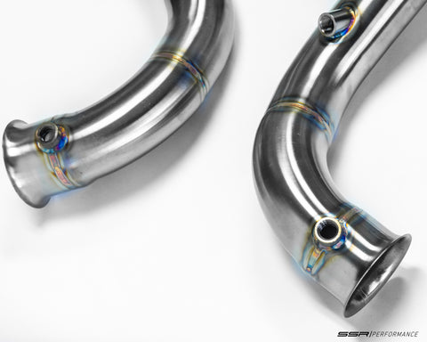 Mercedes Benz GLC63 AMG M177 Competition Series Downpipes