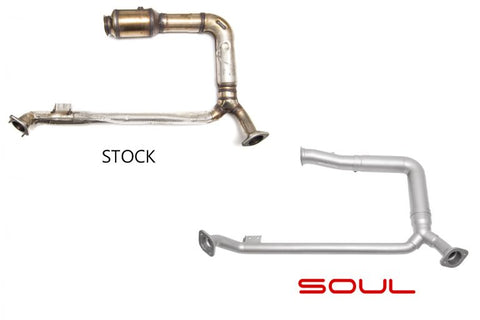 SOUL Porsche 718 Boxster / Cayman Competition Downpipe - SSR Performance