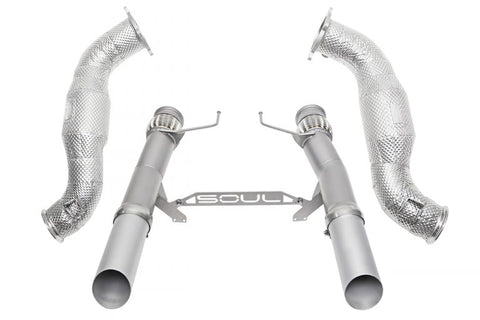 SOUL McLaren 720S 3.5″ Sport Exhaust Package - SSR Performance