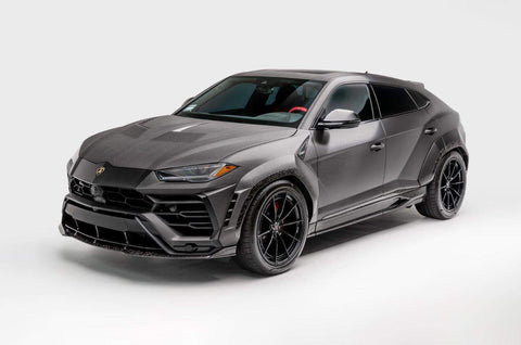 1016 Industries Lamborghini Urus / Side Skirts (Forged Carbon)