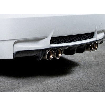 Arkym Double Sided Carbon Fiber Rear Diffuser BMW M3 (E9X) - Sedan - SSR Performance