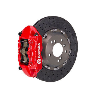 Brembo GT Drilled 380x28mm 6 Piston Rear Big Brake Kit BMW M3/M4 (F8X)  CCM-R - SSR Performance