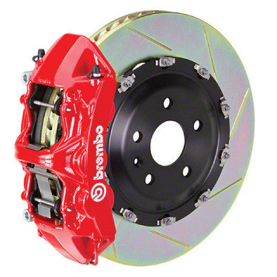 "Brembo GT 15""  4 Piston Slotted Rear Big Brake Kit BMW M5  (F10) - SSR Performance"