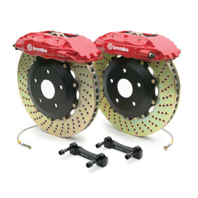 Brembo GT 15 Inch 4 Piston Drilled Rear Big Brake Kit BMW M3/M4 (F8X) - SSR Performance
