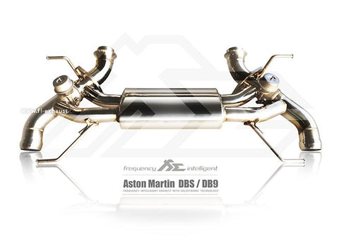 FI Exhaust Aston Martin DB9 Rear Mufflers - SSR Performance