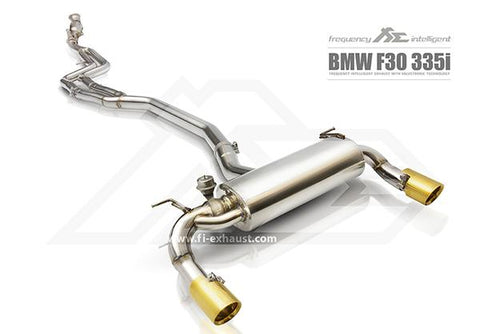 FI Exhaust BMW F30 320i/330i F32 420i/430i B48 DownPipe Only - SSR Performance