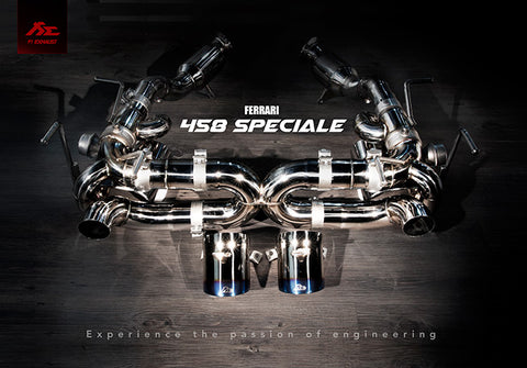 Fi-Exhaust- Ferrari / 458 Speciale (Evolution Version) 2014+ - SSR Performance