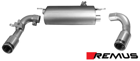 REMUS F30 335/435AXLE BACK EXHAUST - SSR Performance