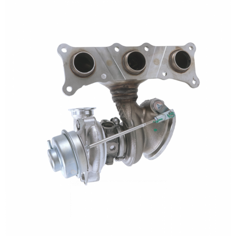 N54 335i / 335is / 335xi E90 / E92 Turbocharger with Exhaust Manifold - Cylinders 4-6 (Part #11 65 7 649 290) - SSR Performance