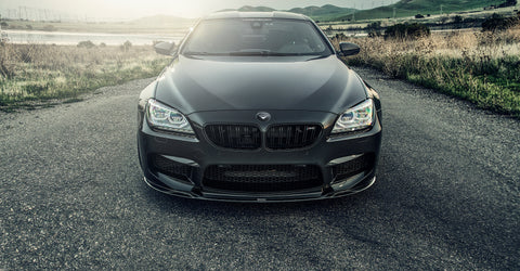 Vorsteiner GTS Carbon Fiber Front Add On Spoiler BMW M6 (F12) - SSR Performance