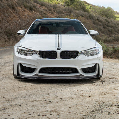 Vorsteiner GTS Carbon Fiber Front Add On Spoiler BMW M3 / M4 (F8X) - SSR Performance