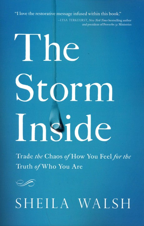 ROCKONLINE | New Creation Church | NCC | Joseph Prince | ROCK Bookshop | ROCK Bookstore | Star Vista | The Storm Inside | Sheila Walsh | Free delivery for Singapore Orders above $50.