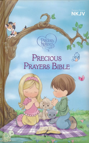 NKJV Precious Moments Precious Prayers Bible, Padded Hardcover