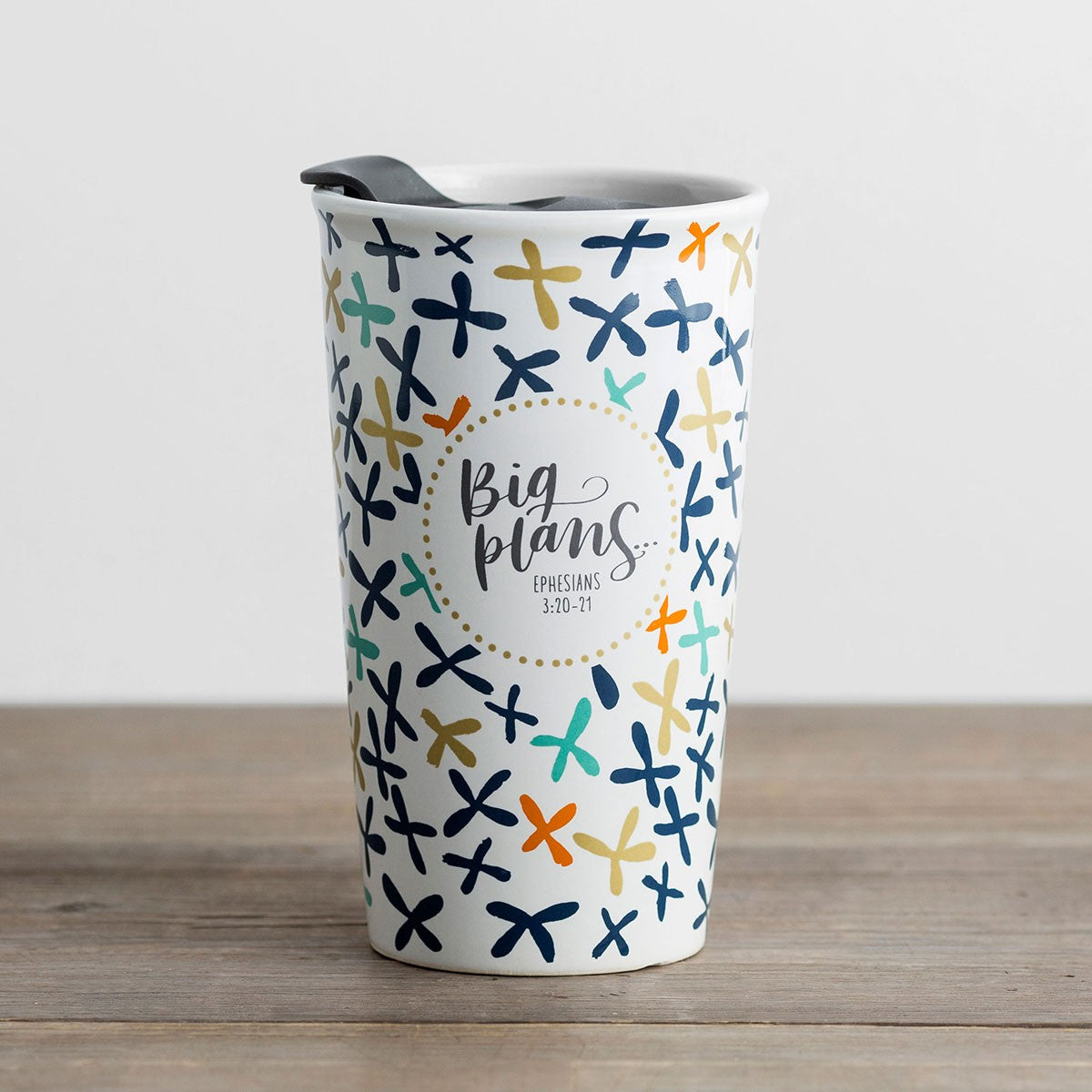 ROCKONLINE | New Creation Church | NCC | Joseph Prince | Ceramic Tumbler with Lid | Drinkware | Thermal Mug | Insulated | Christian Gifts | Small Gifts | Dayspring | Rock Bookshop | Rock Bookstore | Star Vista | Free Delivery for Singapore Orders above $50.