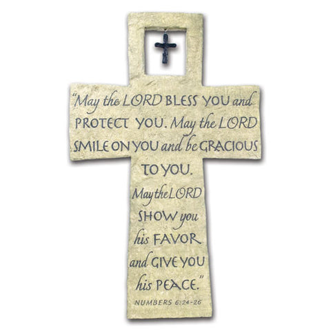 Wall Cross, The Lord Bless You