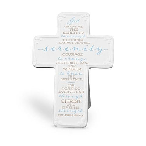 Ceramic Desktop Cross