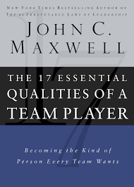 ROCKONLINE | New Creation Church | NCC | Joseph Prince | ROCK Bookshop | ROCK Bookstore | Star Vista | The 17 Essential Qualities of a Team Player | John C Maxwell | Free delivery for Singapore Orders above $50.