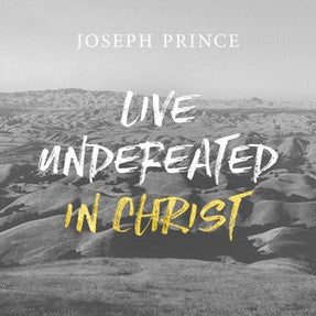 Live Undefeated In Christ (01 May 2016) by Joseph Prince