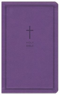 NKJV Thinline Reference Bible, Purple Leathersoft