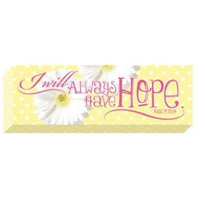 Wood Wall Plaque - Hope