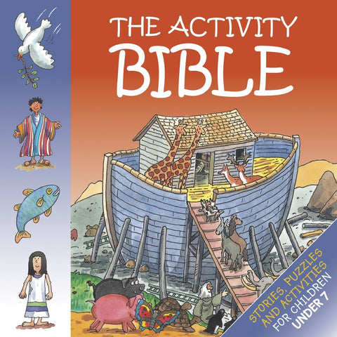 ROCKONLINE | New Creation Church | NCC | Joseph Prince | ROCK Bookshop | ROCK Bookstore | Star Vista | CWR | Children Activity | Puzzle | Colouring | Sunday School | Books | Children | Preschooler | The Activity Bible, (For age 7-)| Free delivery for Singapore Orders above $50