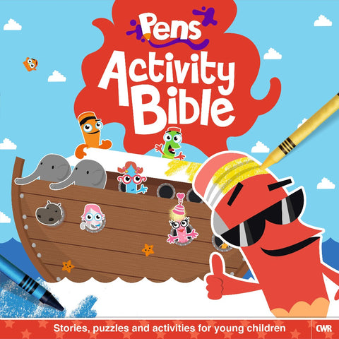 ROCKONLINE | New Creation Church | NCC | Joseph Prince | ROCK Bookshop | ROCK Bookstore | Star Vista | CWR | Children Activity | Puzzle | Colouring | Sunday School | Books | Children | Pens Activity Bible | Free delivery for Singapore Orders above $50