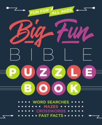 ROCKONLINE | New Creation Church | NCC | Joseph Prince | ROCK Bookshop | ROCK Bookstore | Star Vista | Children | Kids | Tween | Games | Activities | Bible Facts | Crossword | Maze | Christian Living | Bible | Big Fun Bible Puzzle Book | Free delivery for Singapore Orders above $50.