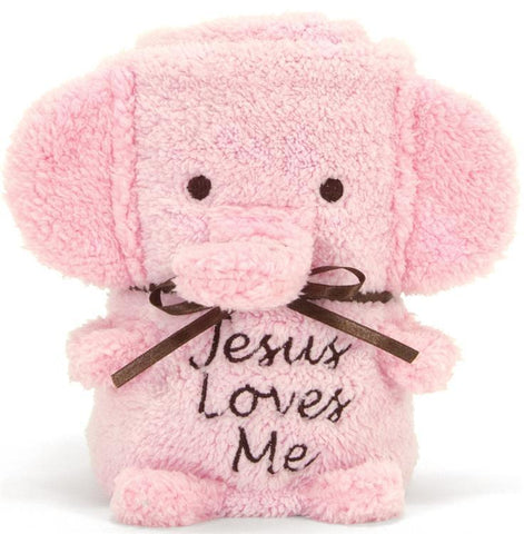Elephant Blankie — Jesus Loves Me