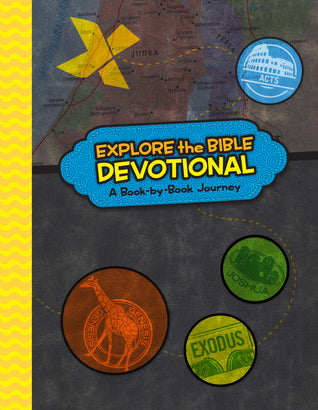 Explore The Bible Devotional, Hardcover