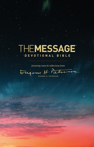 The Message Devotional Bible, Hardcover