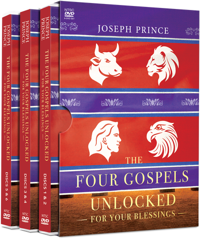 The Four Gospels Unlocked For Your Blessings (DVD Album)