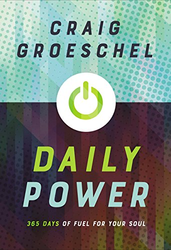 ROCKONLINE | New Creation Church | NCC | Joseph Prince | ROCK Bookshop | ROCK Bookstore | Star Vista | Daily Power: 365 Days of Fuel for Your Soul | Craig Groeschel | Devotional | Daily Read | Free delivery for Singapore Orders above $50.