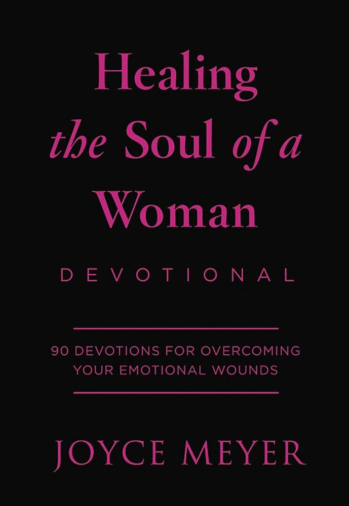 Healing the Soul of a Woman Devotional, Leather Bound