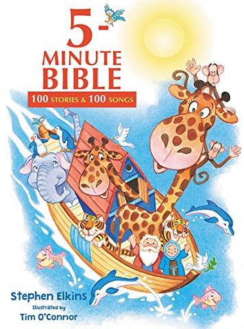5-Minute Bible: 100 Stories and Songs, Hardcover