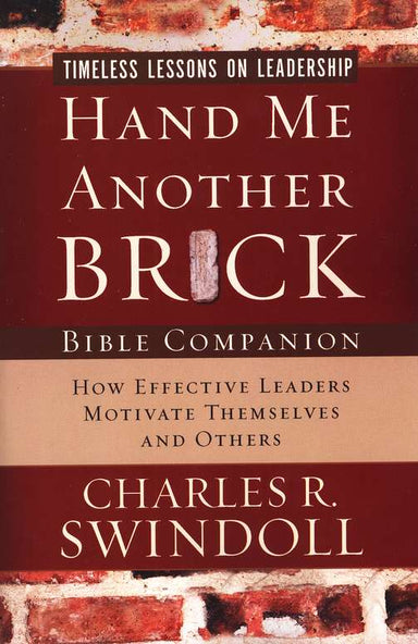 ROCKONLINE | New Creation Church | NCC | Joseph Prince | ROCK Bookshop | ROCK Bookstore | Star Vista | Hand Me Another Brick | Charles Swindoll | Free delivery for Singapore Orders above $50.