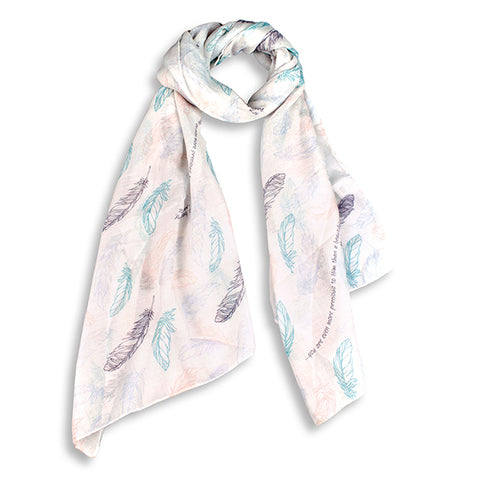 Fashion Scarf with Scripture design