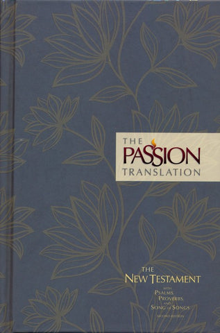 The Passion Translation, 2nd Edition, Hardcover Floral