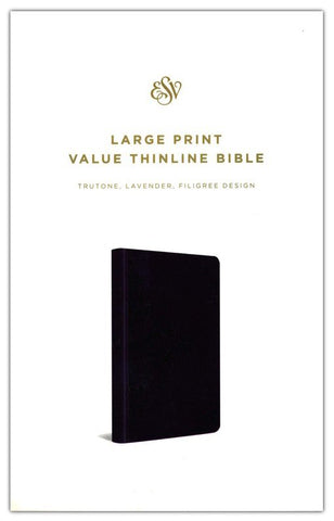 ROCKONLINE | New Creation Church | NCC | Joseph Prince | ROCK Bookshop | ROCK Bookstore | Star Vista | Christian Living | Bibles | ESV Large Print Value Thinline Bible, TruTone, Lavender, Filigree | Free delivery for Singapore Orders above $50.