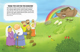 Thank You God For Friends and Family, Bible Storybook