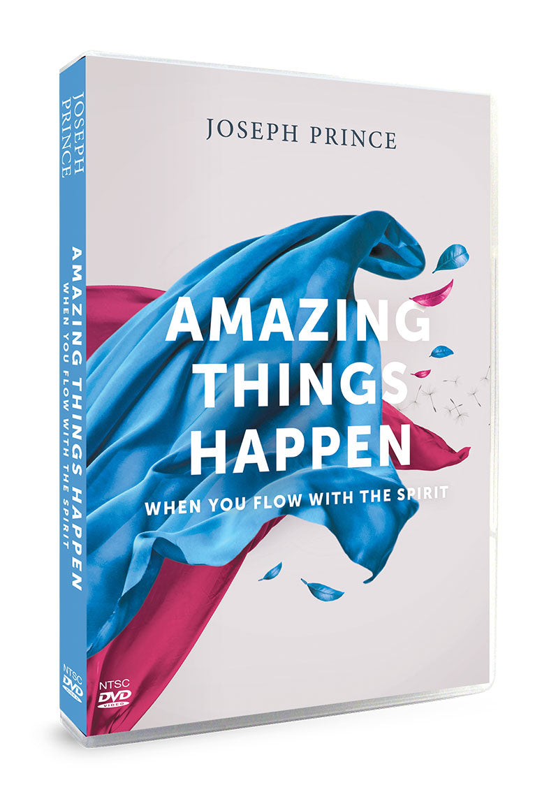 ROCKONLINE | New Creation Church | NCC | DVD Album | Joseph Prince | Amazing Things Happen When You Flow With The Spirit | Rock Bookshop | Rock Bookstore | Star Vista | Free delivery for Singapore orders above $50.