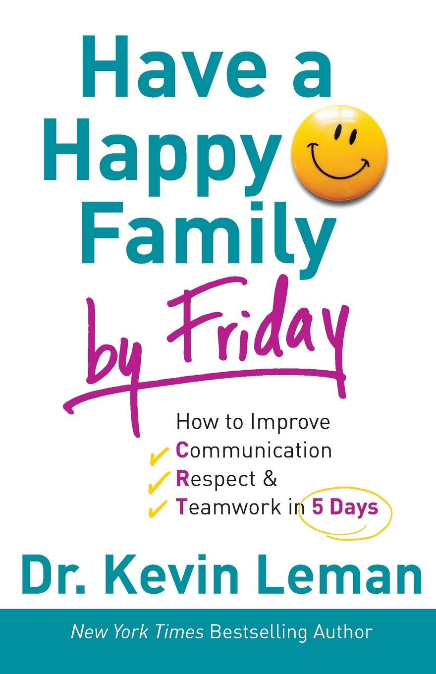 ROCKONLINE | New Creation Church | NCC | Joseph Prince | ROCK Bookshop | ROCK Bookstore | Star Vista | Have a Happy Family by Friday | Parenting | Christian Family | Dr. Kevin Leman | Free delivery for Singapore Orders above $50.