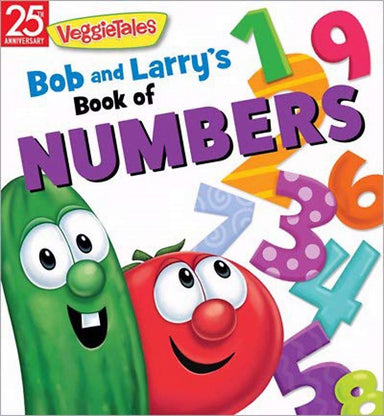 ROCKONLINE | New Creation Church | NCC | Joseph Prince | ROCK Bookshop | ROCK Bookstore | Star Vista | Children | Kids | Toddler | Preschooler | Bible Story | Christian Living | Boardbook | Bible | VeggieTales Bob and Larry's Book of Numbers, Boardbook | Free delivery for SG orders above $50.