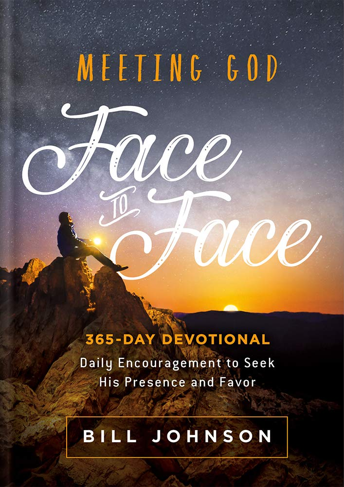 ROCKONLINE | New Creation Church | NCC | Joseph Prince | ROCK Bookshop | ROCK Bookstore | Star Vista | Meeting God Face to Face: Daily Encouragement to Seek His Presence and Favor  | Bill Johnson | Spiritual | Devotional | Hardcover | Free delivery for Singapore Orders above $50.