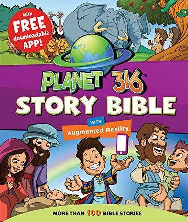 ROCKONLINE | New Creation Church | NCC | Joseph Prince | ROCK Bookshop | ROCK Bookstore | Star Vista | Children | Kids | Bible Story | Christian Living | Bible | Planet 316 Story Bible, hardcover | Free delivery for SG orders above $50.