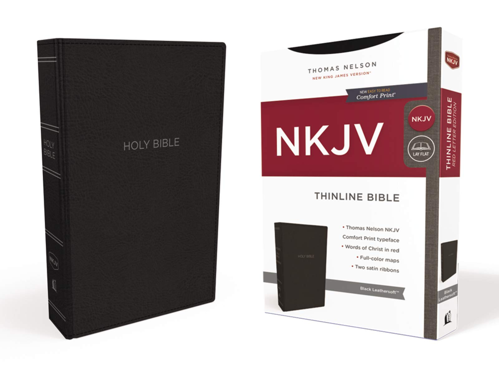 ROCKONLINE | New Creation Church | NCC | Joseph Prince | NKJV Thinline, Leathersoft Black, Comfort Print | ROCK Bookshop | ROCK Bookstore | Star Vista | New King James | Thomas Nelson | Bibles | Free delivery for Singapore Orders above $50.