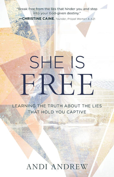 ROCKONLINE | New Creation Church | NCC | She Is Free: Learning the Truth about the Lies that Hold You Captive | Andi Andrew | Women |  Personal Growth | Christian Living | Joseph Prince | ROCK Bookshop | ROCK Bookstore | Star Vista | Free delivery for Singapore Orders above $50.